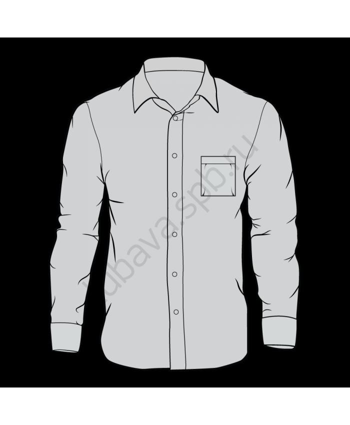 Рубашка классика мужская