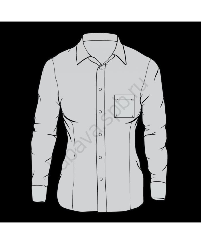 Рубашка классика женская