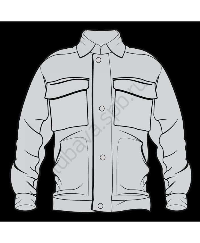 Куртка рабочая без подстежки