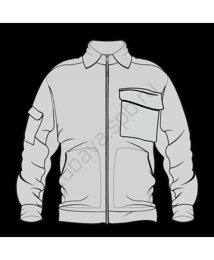 Куртка рабочая с карманом на рукаве